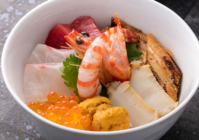 天草海鮮丼〝極〟